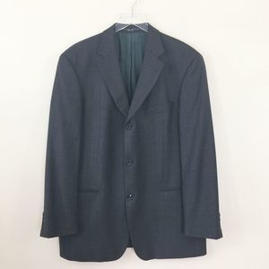 Hugo Boss Olive Green 100% Wool Blazer 42R